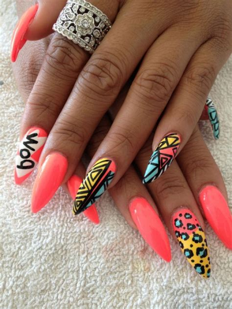 Nails For You by Pointy And Posh Top 65 Amazing Stiletto Nails