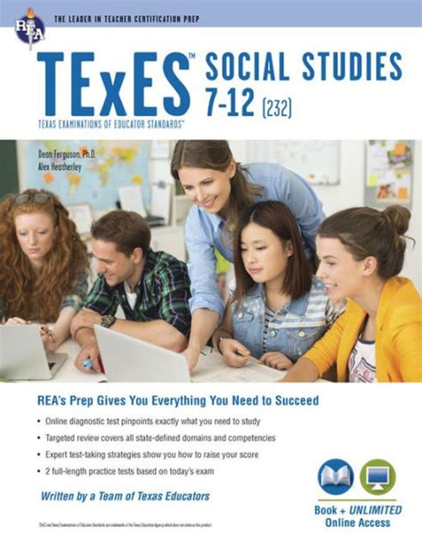 Texes Social Studies 7 12 232 by Texes Social Studies 7 12 232 Book By Dean