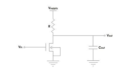 load resistor circuit mosfet circuits electrical4u
