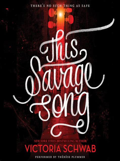 this savage song monsters this savage song hillsborough county public library cooperative overdrive