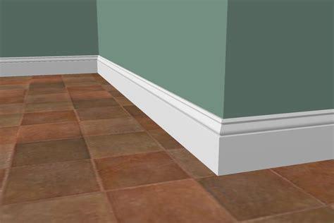 Floor Molding Ideas 355 Base Moulding 11 16 X 5 1 4 Lumber