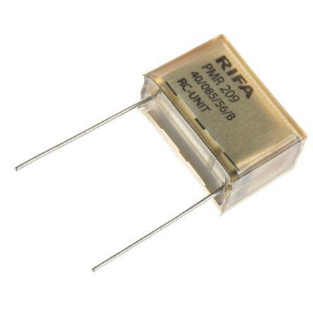 capacitor tolerance pmr209me6220m470r30 kemet rc capacitor 220nf 470ω tolerance 177 20 250 v ac 630 v dc 1 way