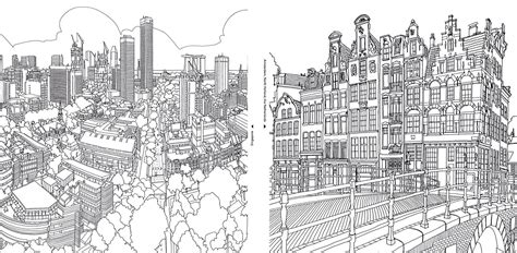 coloring books for adults singapore fantastic cities a coloring book for adults tools and toys