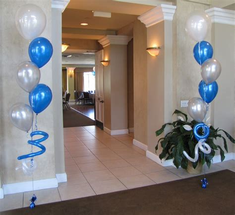Balloon Table Decorations » Home Design 2017