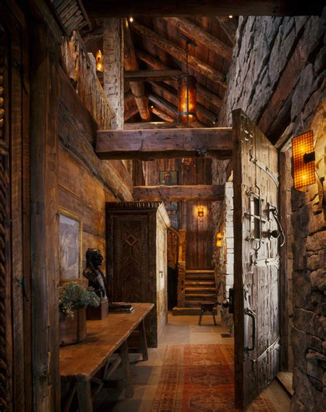 rustic entryway entry hallway rustic entry other metro by peace design