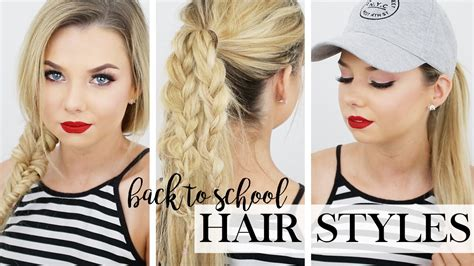hairstyles for extensions youtube 5 hairstyles for back to school long hair hairstyles
