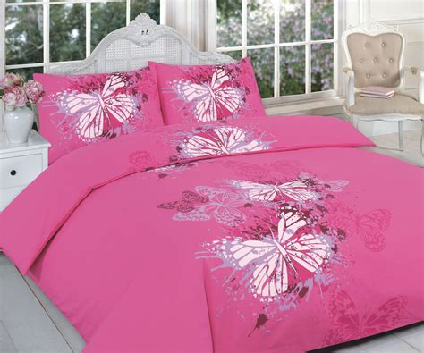 Butterfly Quilt Covers by Butterfly Modern Pink Quilt Duvet Cover Pillowcase