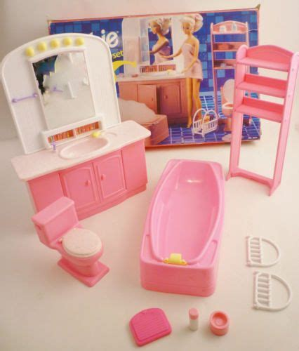 barbie doll bathroom lot 3 barbie sets so much to do living room barbie