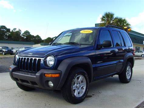navy blue jeep liberty used jeep liberty sport 2004 details buy used jeep