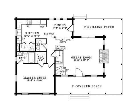 nelson home plans nelson lagoon log home plan 073d 0015 house plans and more