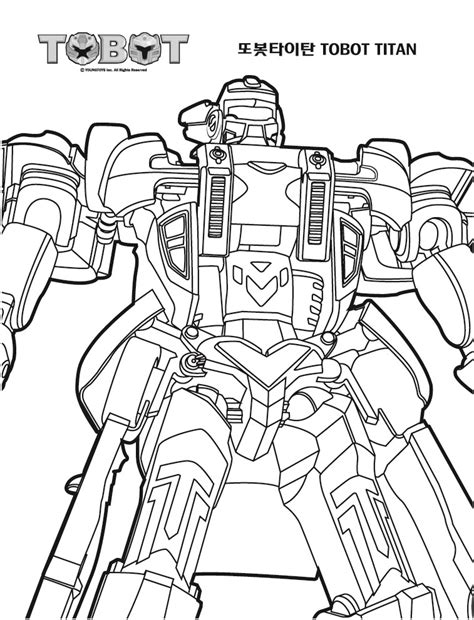 Tobot Y Coloring Pages by 캔두잇 또봇 그림 색칠공부 색칠놀이