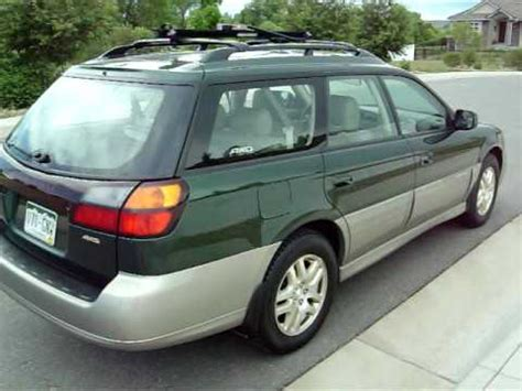 wrecked subaru outback 2000 subaru outback limited totaled wrecked for sale on