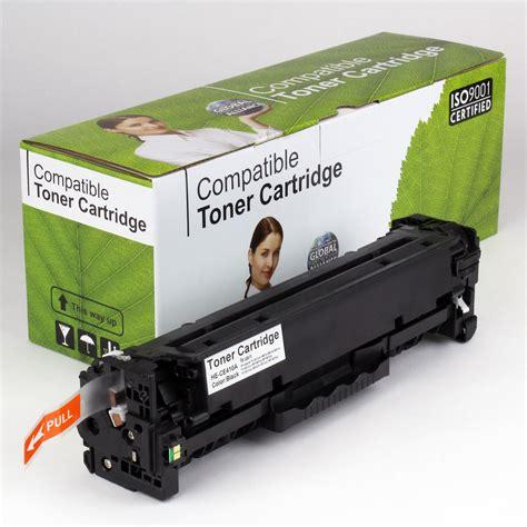 Toner Ce410a dakota ink and toner 187 hp compatible black toner ce410a