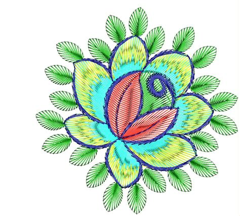 flower pattern embroidery design flower embroidery design clipart best