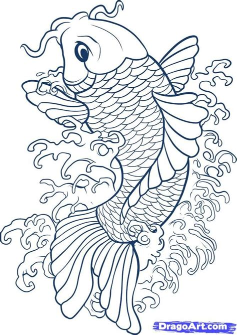 Drawing Koi Fish by Drawing Koi Fish Connect To Study Of Japan And Japanese