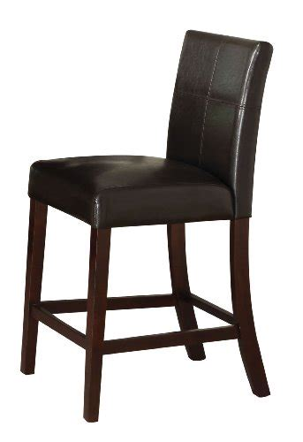 24 inch height chairs acme 70357 set of 2 idris counter height chair 24 inch