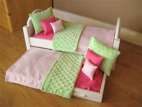 bed for american girl doll doll bedding for american girl doll bunk bed or trundle bed 10
