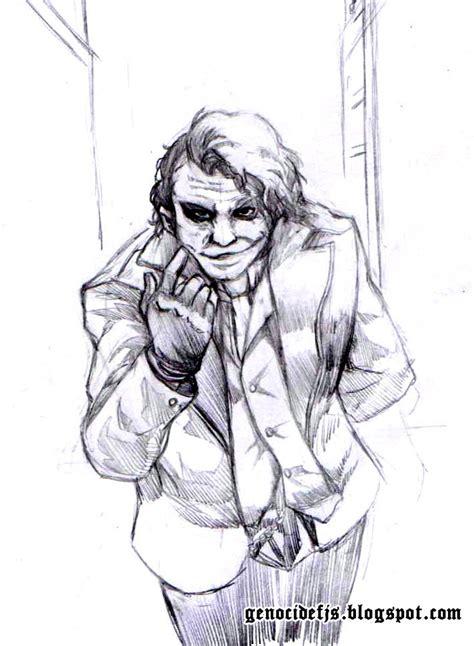 imagenes joker para dibujar genocide actividad joker homenaje a heath ledger