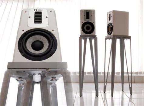 Ikea Metal Bookshelf David Kan Builds Speaker Stands Out Of Ikea Materials