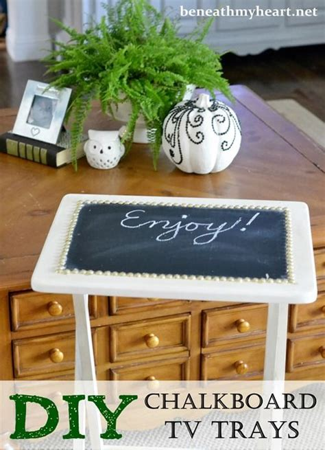 diy chalkboard tray diy chalkboard tv trays tv trays chalkboards and trays