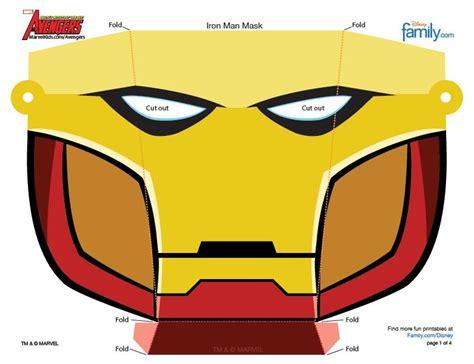 kostenlose comic helden masken fuer kinder zum ausdrucken