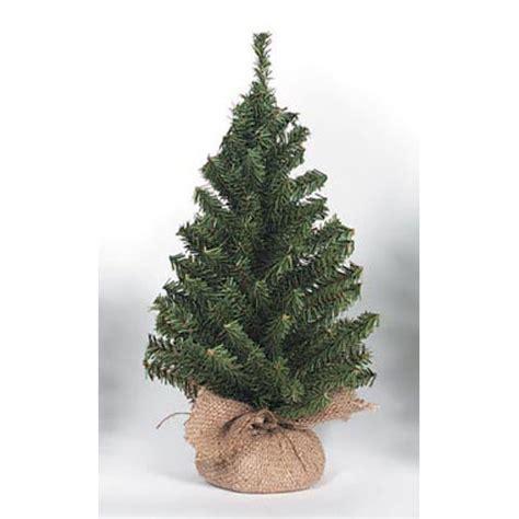 15 quot mini canadian tree x108 burlap base