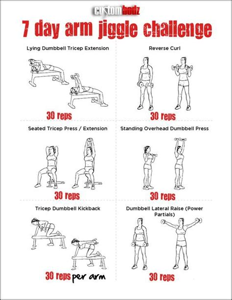 arm workout exercise triceps hiking and