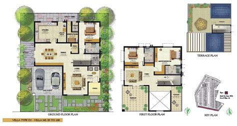 villa floor plans india prestige royal woods hyderabad telangana india luxury