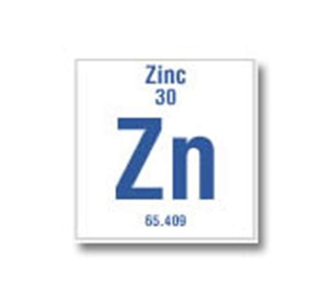 the gallery for gt zinc symbol