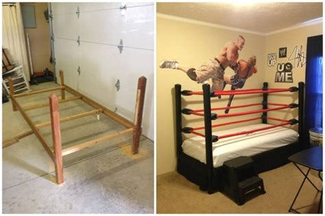 diy show off a do it yourself home improvement and diy wrestling bed step by step instructions under 100