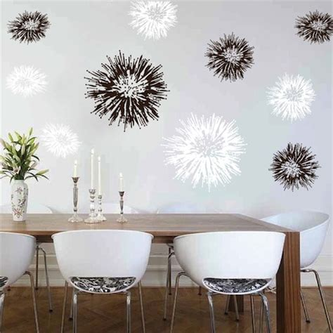 trendy wall design spiky wall decals trendy wall designs