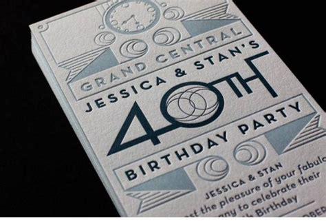 18 stunning exles of letterpress printing templates