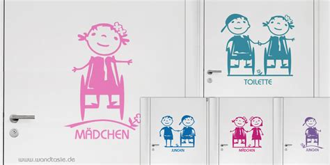 Aufkleber Rollstuhl Kind by Beschriftungen F 252 R Barrierefreie Kinder Toiletten