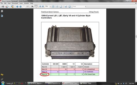 how to hook up a pcm to hp tuners without going through