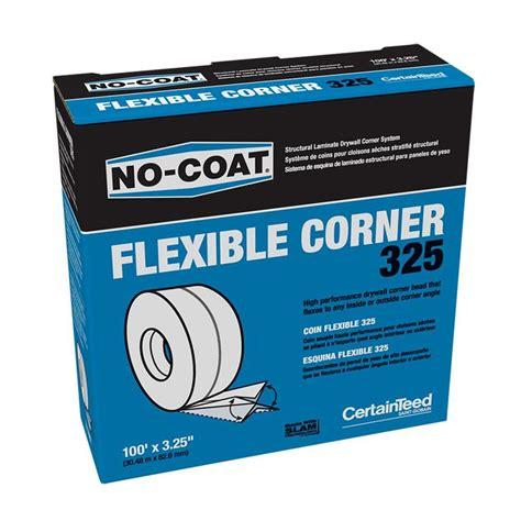 no coat corner bead shop certainteed 3 25 in x 100 ft no coat vinyl corner