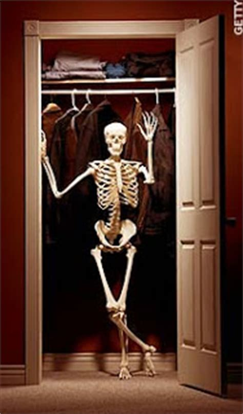 Skeleton In The Closet Idiom by The Blc October 2008