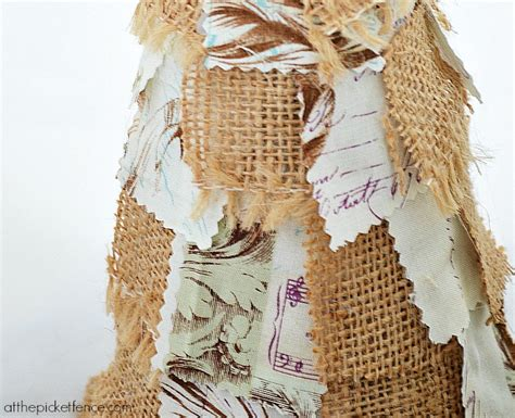 how to make fabric trees fabric scrap trees at the picket fence
