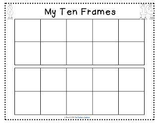 blank ten frame printable cauldron apples ice
