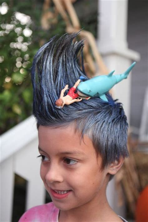 crazy hairstyles at home ideas for crazy hair day at school for girls and boys