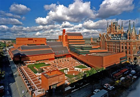 Room Decore by Once Derided British Library Given Historic Building