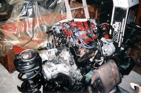 pontiac fiero    engine swap
