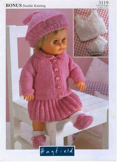 free 12 inch doll knitting patterns herbie s doll sewing knitting crochet pattern