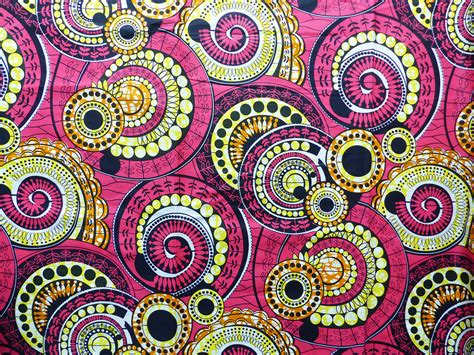 Tissu Napkin Eropa Motif Er035 tissu wax africain motif jaune orange par 0 50m tissus 224 th 232 me par bouts de motifs