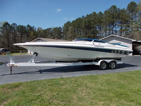 fountain outboard boats for sale 29 fountain boat 2005 525 hp 2005 for sale for 1