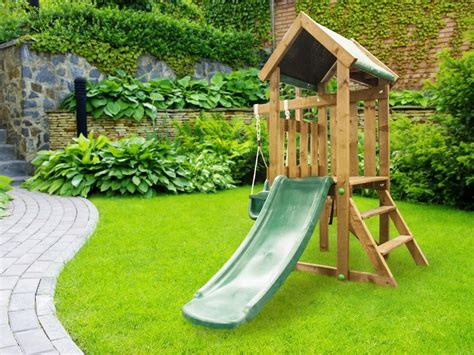 kids slides and swings kids small climbing frame baby swing slide set playhouse