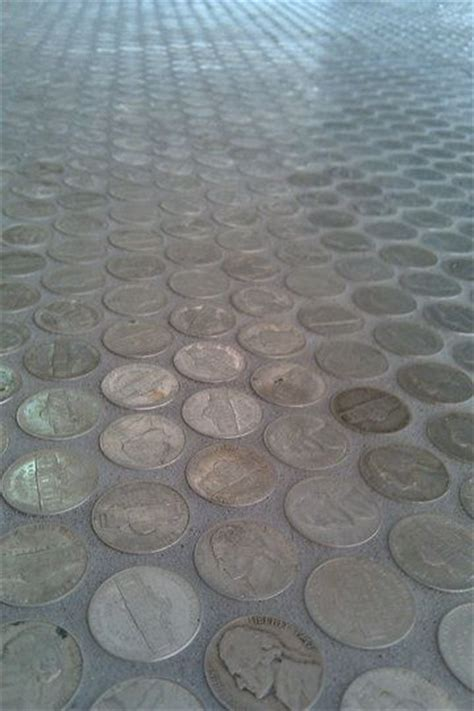 unique tile 1000 ideas about penny flooring on pinterest pennies floor penny table and pennies crafts