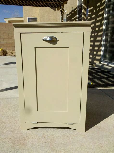 cabinet trash can trash can cabinet for the home