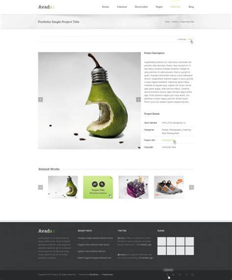 avada theme for photographers 20 cool wordpress paid themes launched in august 2012