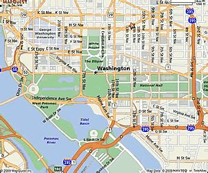 map of dc area road map of dc metro area