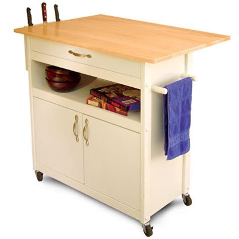 Kitchen Cart Islands Drop Leaf Utility Butcher Block Kitchen Island Cart